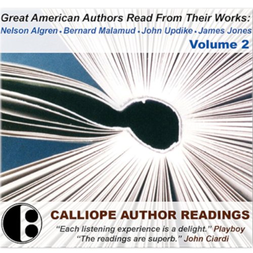 Great American Authors Read from Their Works, Volume 2 audiobook cover art