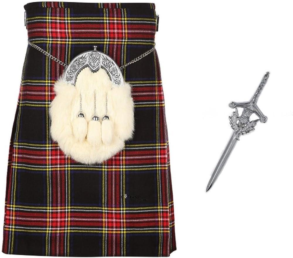 The Scotland quality Popularity assurance Kilt Company Mens Budget with 5 Matc Yard Free