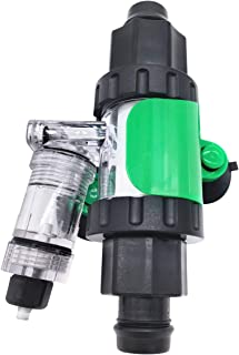 Atman CO2 Diffuser Enhanced Dissolution with Bubble Counter & Integrated Check Valve for Aquarium Planted Fish Tank
