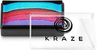 Kraze FX Dome Stroke - Fancy Girl (25 gm), Professional 1-Stroke Split Cake, Hypoallergenic, Non-Toxic, Water Activated Fa...