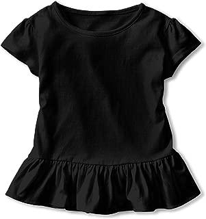 Kid's Sopranos Logo Toddler Short Sleeve T Shirt Children Girls Cotton Graphic Tee Soft Dress (2-6T)