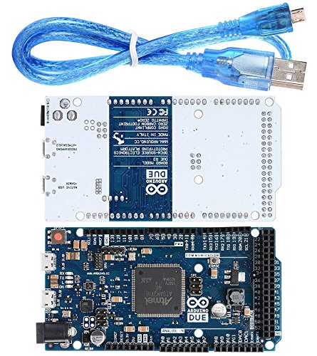 Due R3 Board SAM3X8E Controlador ARM de 32 bits Compatible Clon para Arduino con cable USB