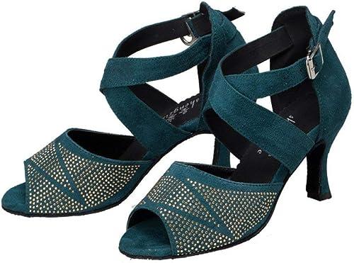 Marca De Para Fuxitoggo Zapatos Baile Latino Mejor Yy7b6gf