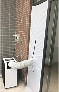 Aire Acondicionado móvil Sello de la Ventana 2/3 m Accesorios de Tela Aire Acondicionado móvil Placa de Sellado de la Ventana Deslizante Paño Suave (Size : 2 Meters)
