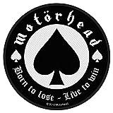 Motörhead - Aufnäher Born to Lose (in OneSize)