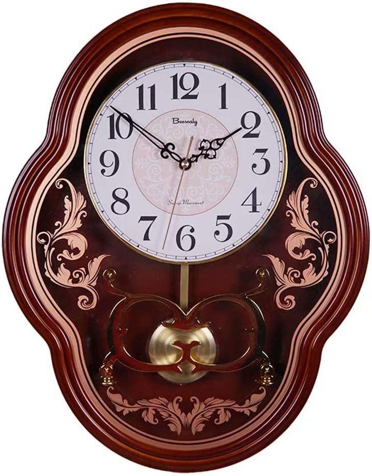 Wall Clock Large Digital Overseas parallel import regular item Cheap mail order sales Old Pendulum Silent