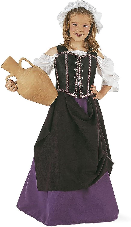Nuevos productos de artículos novedosos. Limit Limit Limit Sport - Disfraz de tabernera medieval para niña (MI239)  servicio considerado