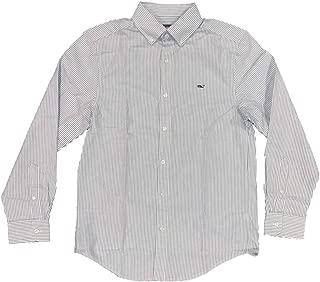 Vineyard Vines Men's Long Sleeve Button Down Whale Shirt Oxford