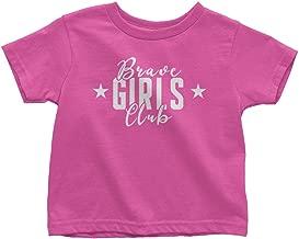 Mixtbrand Children's Brave Girls Club Toddler T-Shirt