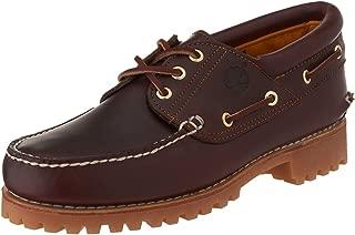 timberland heritage 3 eye boat shoes