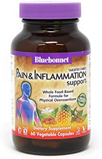 Bluebonnet Nutrition Targeted Choice Pain & Inflammation Support Herbal Blend, 60 Count