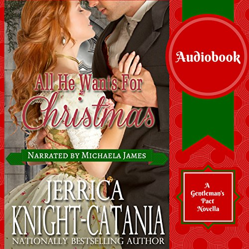 All He Wants for Christmas  audiobook cover art