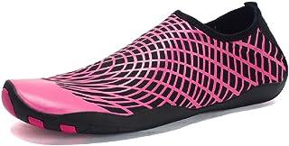 online store 84ddb c48e6 DoGeek Chaussures Aquatiques Homme Femme Chaussures de Yoga Chaussures de  Bain Peau Aqua Pilate Chaussures -