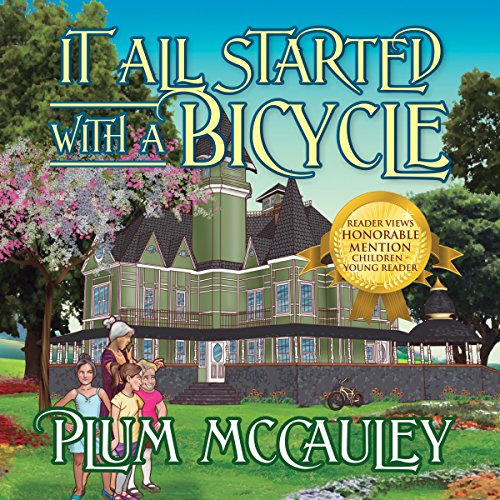 It All Started with a Bicycle audiobook cover art