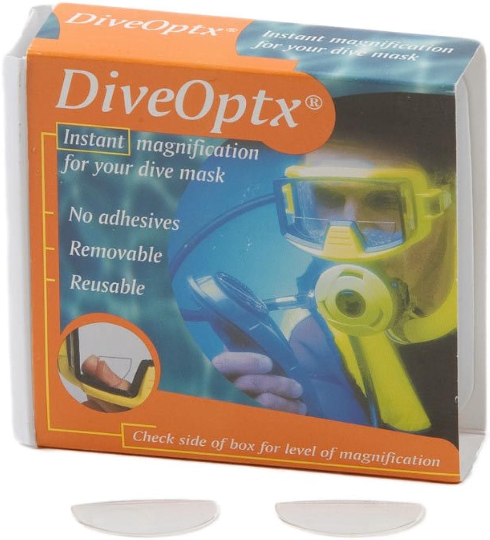 Aqua Dive Optx Flexible Dive Mask Magnifiers (1 Pair) DiveOptx
