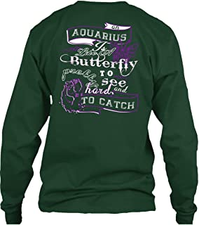Aquarius is Like of Butterfly T Shirt, Harel to Catch T Shirt