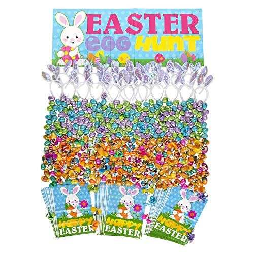 Great Features Of Bulk Premium Egg Hunt Kit For 50 for Easter - Party Supplies - Pre - Filled Party ...