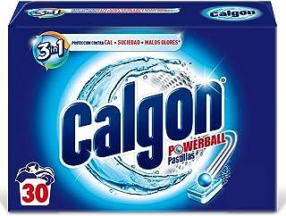 comprar comparacion Calgon Powerball Pastillas - Antical para la Lavadora, Elimina Olores y Suciedad, en formato pastillas, 30 unidades
