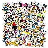 50Pcs Disney Mickey Minnie Vinyl Waterproof Graffiti...