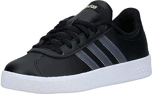 adidas VL Court 2.0 K, Chaussures de Running Mixte Enfant