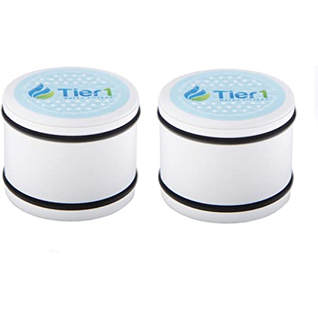Tier1 Replacement for Culligan WHR-140 Level 2 Showerhead Shower Filter Cartridge 2 Pack