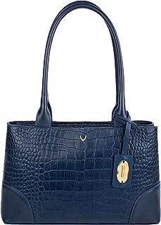 Hidesign Women's Shoulder Bag(CRO MEL RAN M BLUE)