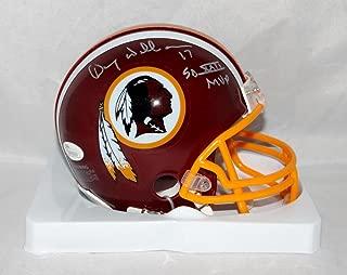 Doug Williams Autographed Washington Redskins Mini Helmet W/ SB MVP- JSA W Auth