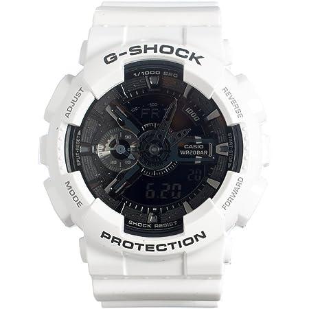 Casio G-Shock GA-110 Garish Trending Series Men's Luxury Watch - White / One Size