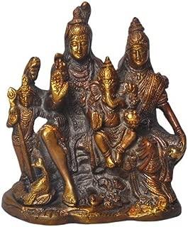 Indian Handicrafts Export Elite Statues Shiv Parivar Idol