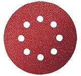 Bosch 2 609 256 A26 - Juego de hojas de lija de 5 piezas para lijadora excéntrica