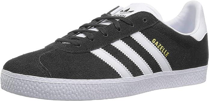 Amazon.com | adidas Gazelle 2 J Big Kid's Shoes Grey/White/White ...