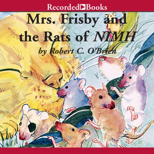 Mrs. Frisby and the Rats of NIMH audiobook cover art