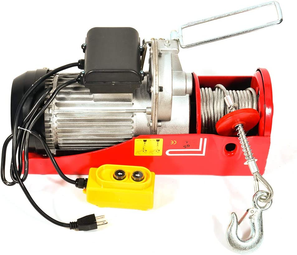 Electric for M-ini Hoist TUPARTS Winch El Paso Mall P 2000LBS Sale Special Price Crane Overhead