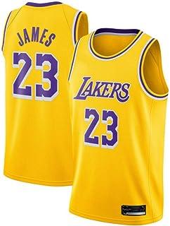 8cd73e9269fcd SansFin Hommes Adulte Lebron James #23 Lakers Maillot Basketball Jersey  Basket Maillots de Basket Uniforme