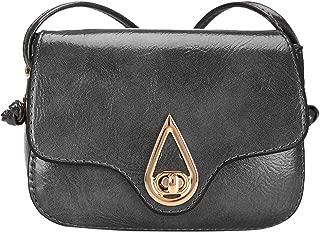 Kwok Women Fashion Trend Leather Crossbody Bag Pure Color Shoulder Bags Messenger Bag Coin Bag Crossbody Bag Leisure Bag Handbag