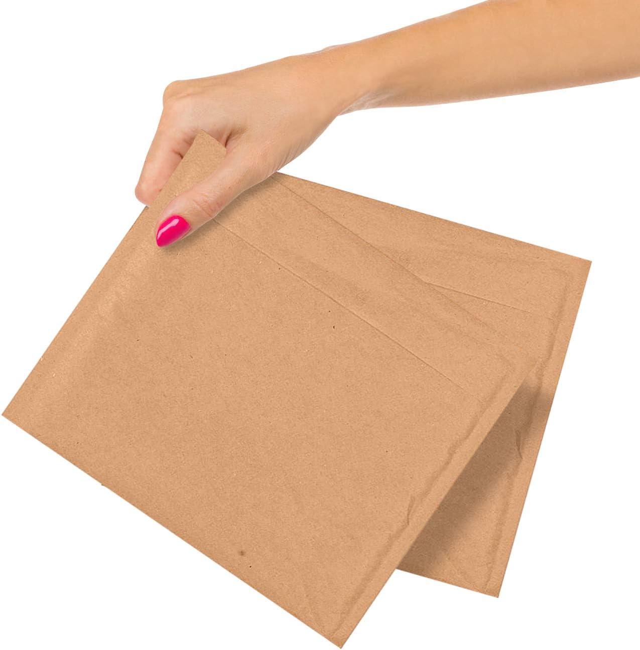 250 Pack Kraft Padded Envelopes 7.25 Mailers 7 7.25x7 price Finally resale start C Bubble x