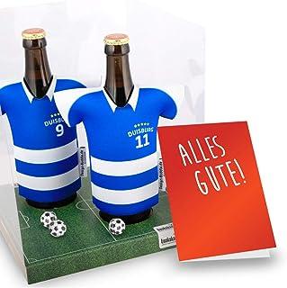 Alles fuer Duisburg-Fans by Ligakakao.de Mein Trikotkühler für MSV Fans   Eiskalter Biergenuss. Jedes Spiel. Jedes Tor. Jeden Moment   Fan-Edition für Zuhause   Home-Trikot Herren Bier Flaschenkühler & Fanartikel by ligakakao.de