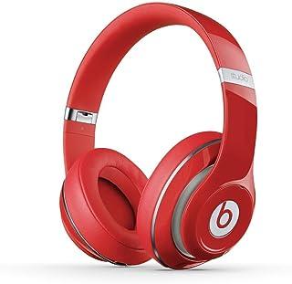 Beats by Dr. Dre Studio V2 オーバーイヤーヘッドフォン レッド (整備済み品)