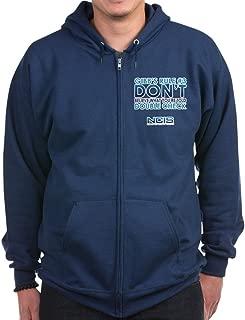 CafePress - Gibbs Rule #3 - Zip Hoodie, Classic Hooded Sweatshirt with Metal Zipper