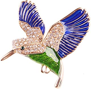 TXSD Broches de Colombe de la Paix en m/étal pour Femmes Broches Corsage dor/é Broche Petits Oiseaux