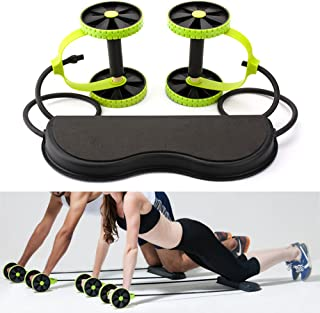 Revoflex Xtreme New Core Double Wheels Thin Waist Fitness Slimming abdominal Workout Training Gym Exercise Equipment