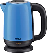 Todo 1.7L Stainless Steel Cordless Kettle 2200W Electric Water Jug Serenity