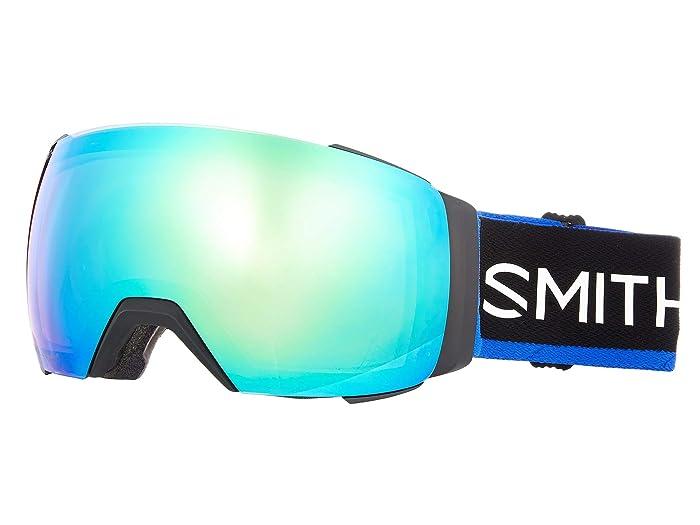 I/O Mag XL  Shoes (Smith X The North Face/Blue/Chromapop Everyday Green Mirror/Chro) Goggles
