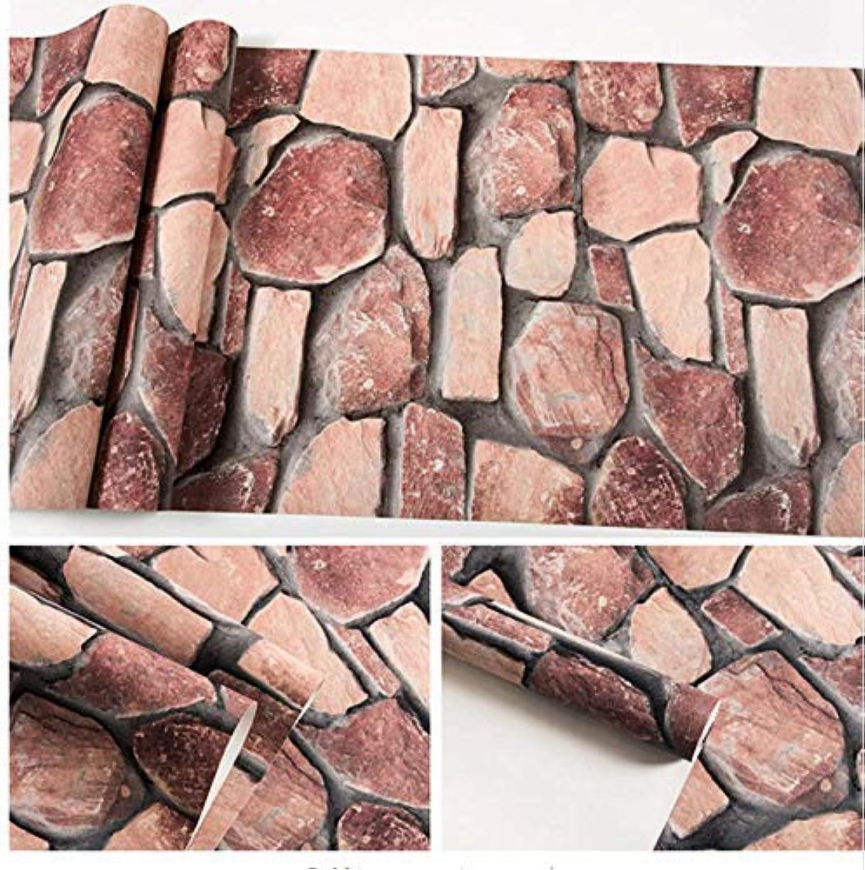 precios bajos todos los dias YueQiSong YueQiSong YueQiSong Vintage 3D Imitación de Piedra de Vinilo Wallpaper Salón Dormitorio Fondo del Hogar Hogar Decoración del Hogar Rollos de Papel de Parojo 53Cmx10M  venta al por mayor barato
