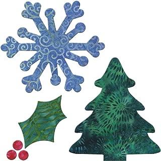 AccuQuilt GO! Fabric Cutting Dies; Holiday Medley