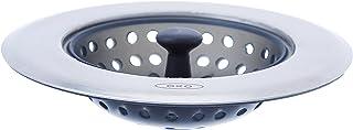 OXO Good Grips Crépine pour évier – Filtre pour évier en silicone - Taille unique - Gris
