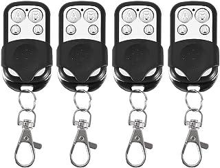 Sleutelhanger, 4 stuks universele klonen draadloze afstandsbediening sleutelhanger voor auto garagedeur poort 433 MHz