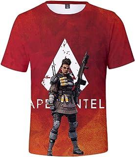 Apex Legends Shirt 3D Printed Victory Gaming T-Shirt for Women Men