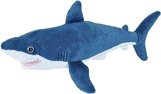 "Wild Republic Mako Shark Plush, Stuffed Animal, Plush Toy, Gifts for Kids, Mini Cuddlekins, 8"", 13 Inches (21478)"