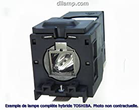 46HM94 Toshiba DLP Projection TV Lamp Replacement. Toshiba TV Lamp Replacement with Ushio Bulb Inside